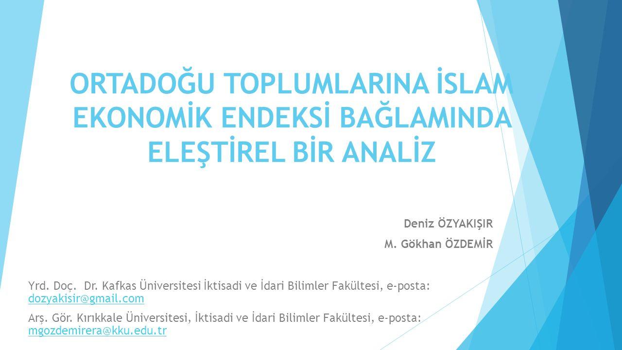 Deniz ÖZYAKIŞIR M. Gökhan ÖZDEMİR