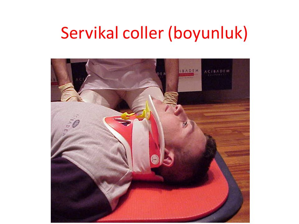 Servikal coller (boyunluk)