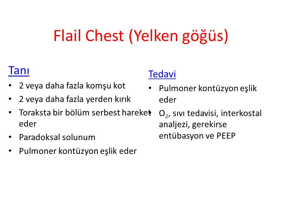 Flail Chest (Yelken göğüs)