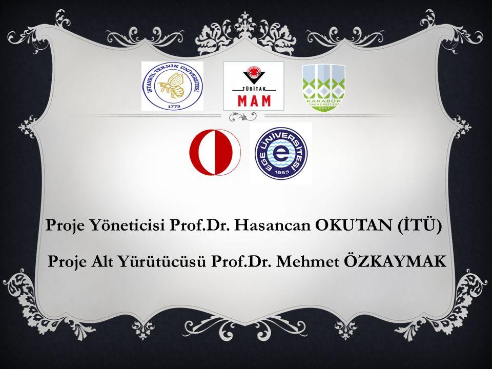 Proje Alt Yürütücüsü Prof.Dr. Mehmet ÖZKAYMAK