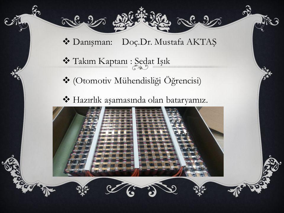Danışman: Doç.Dr. Mustafa AKTAŞ