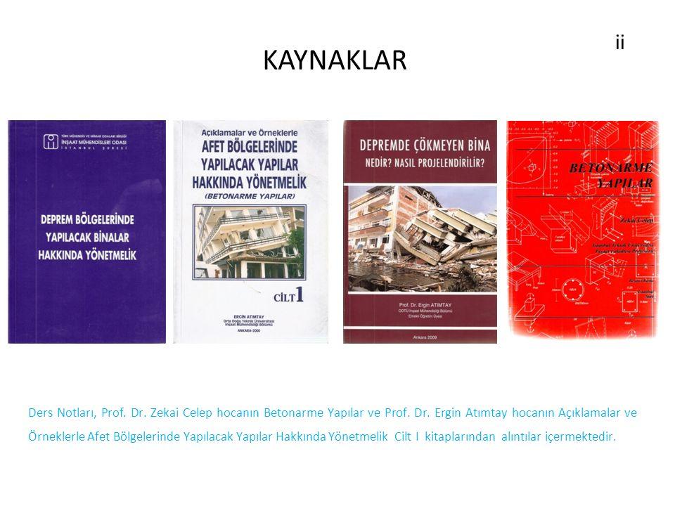 KAYNAKLAR ii.