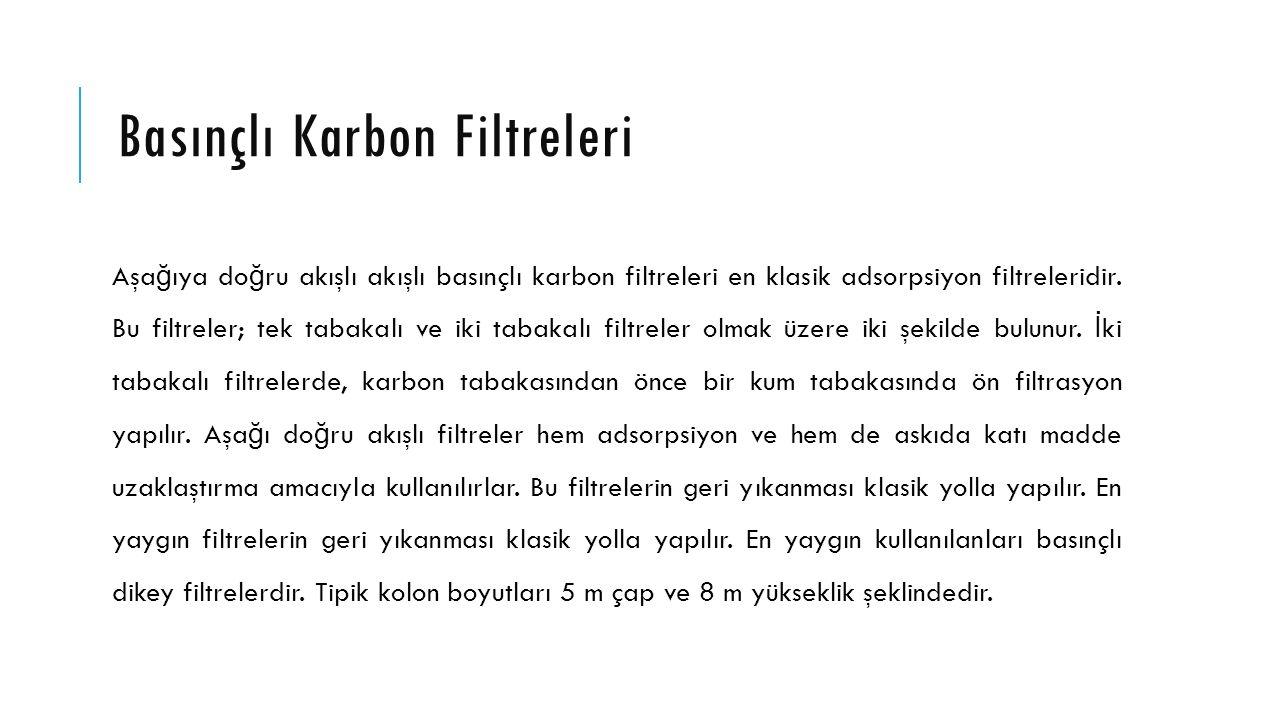 Basınçlı Karbon Filtreleri