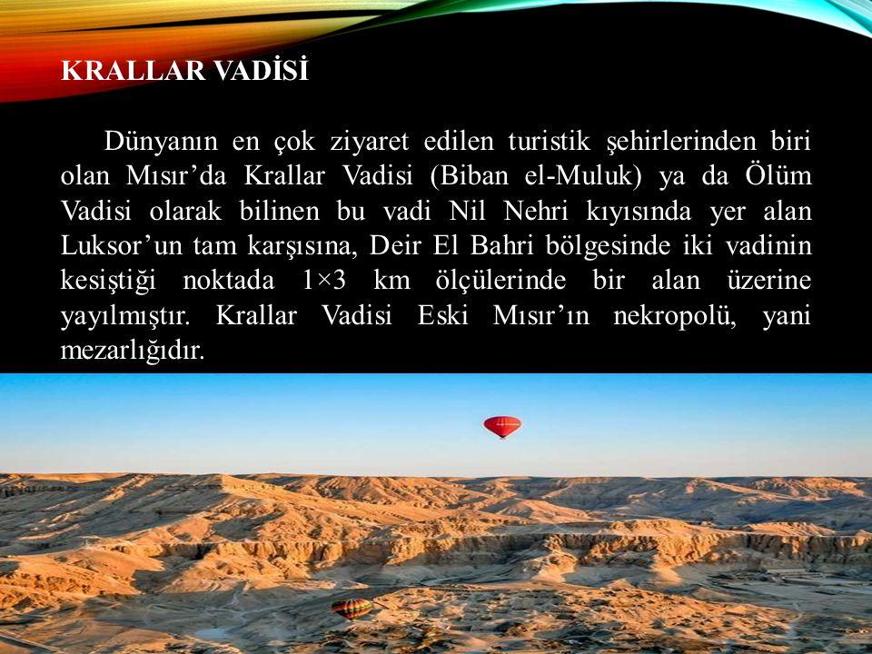 KRALLAR VADİSİ