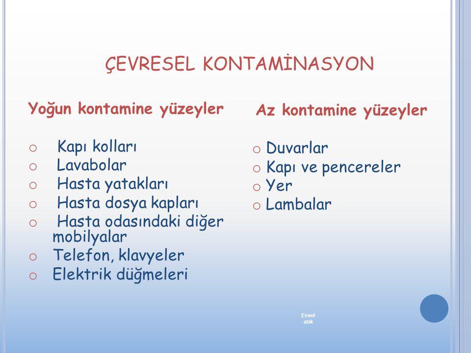 ÇEVRESEL KONTAMİNASYON