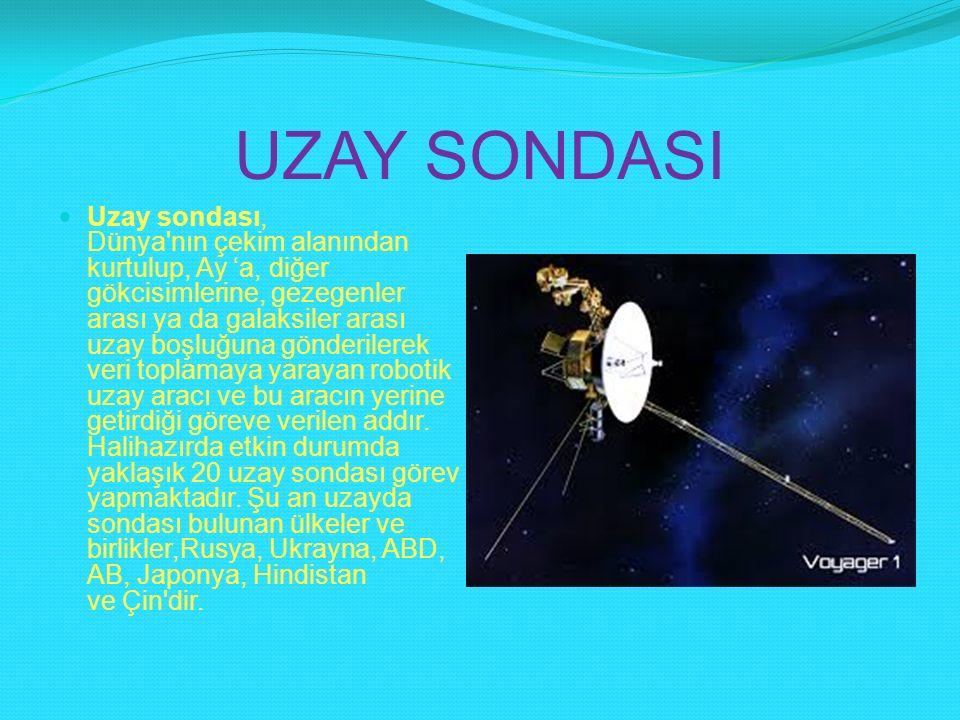 UZAY SONDASI