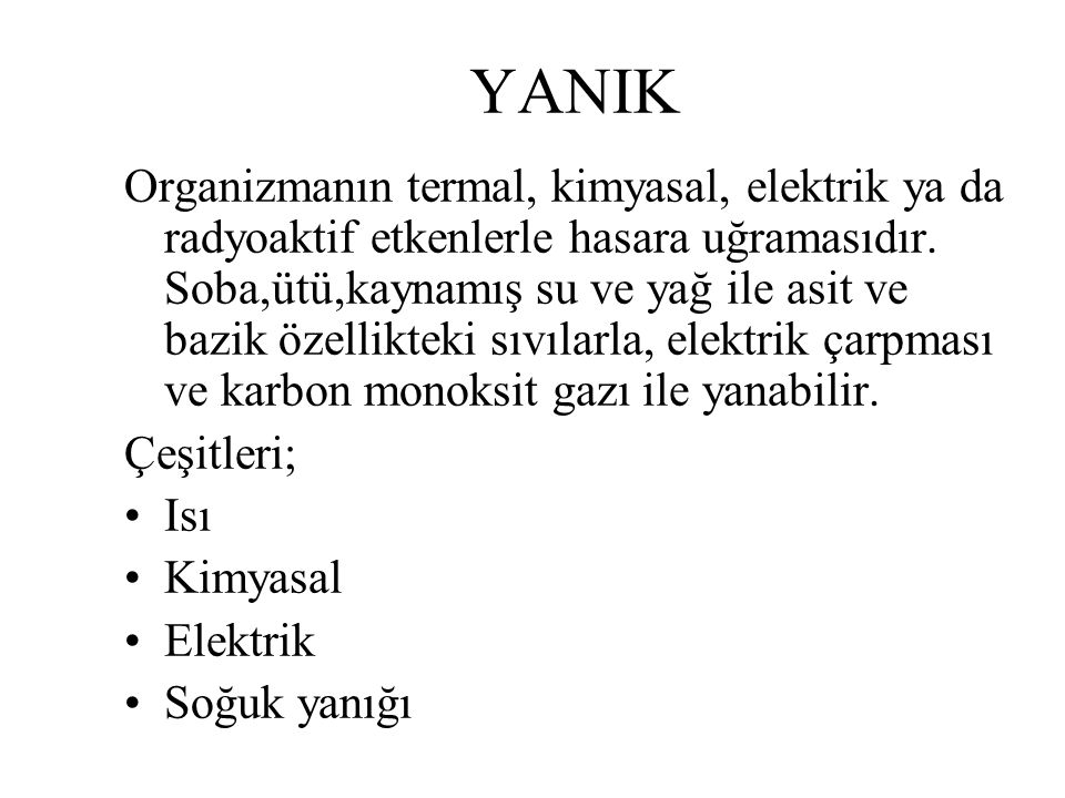 YANIK