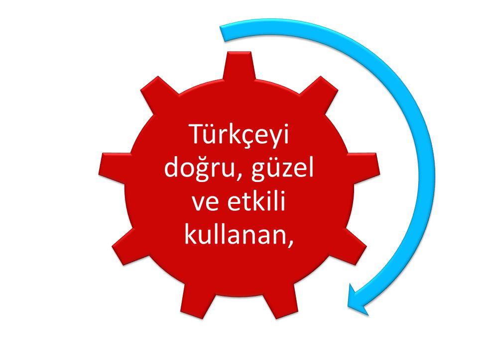 Türkçeyi doğru, güzel ve etkili kullanan,