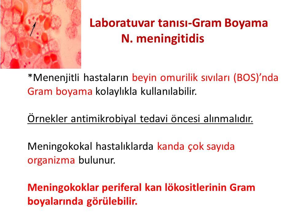 Laboratuvar tanısı-Gram Boyama
