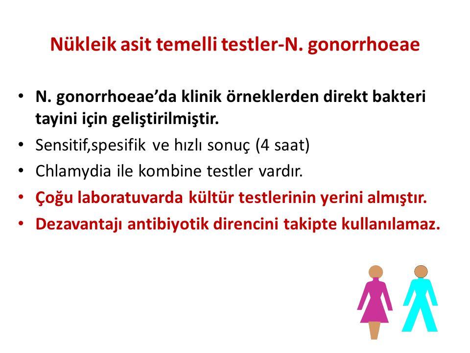 Nükleik asit temelli testler-N. gonorrhoeae