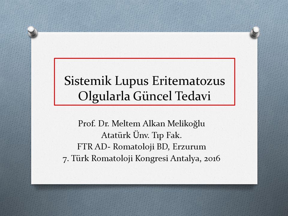 Sistemik Lupus Eritematozus Olgularla Güncel Tedavi