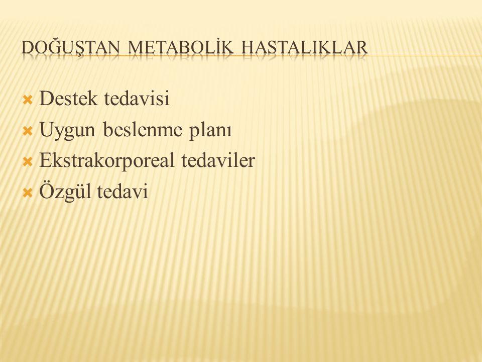 Doğuştan metabolİk hastalIklar