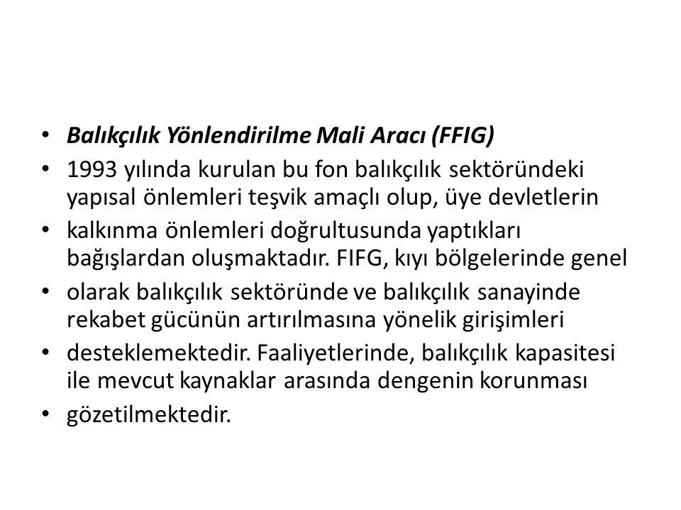 Balıkçılık Yönlendirilme Mali Aracı (FFIG)