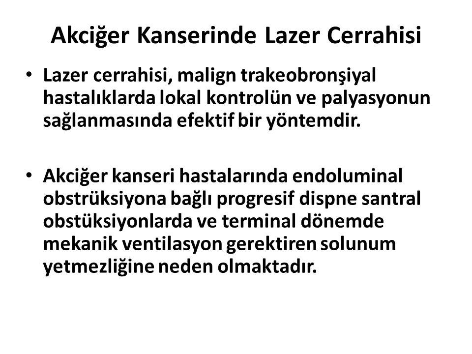 Akciğer Kanserinde Lazer Cerrahisi