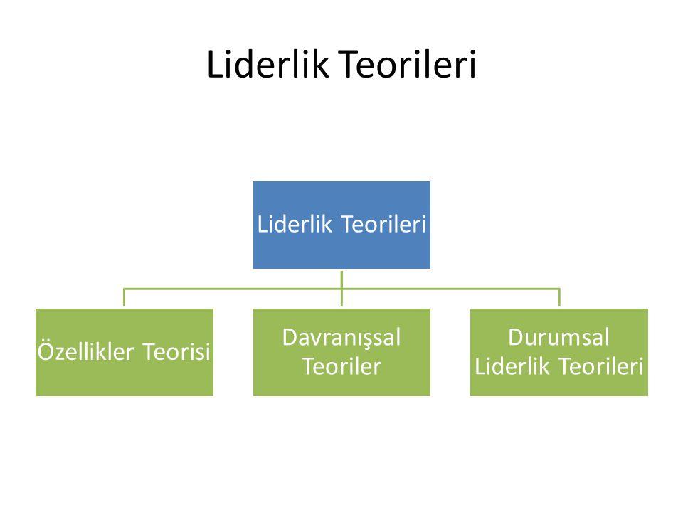 Durumsal Liderlik Teorileri
