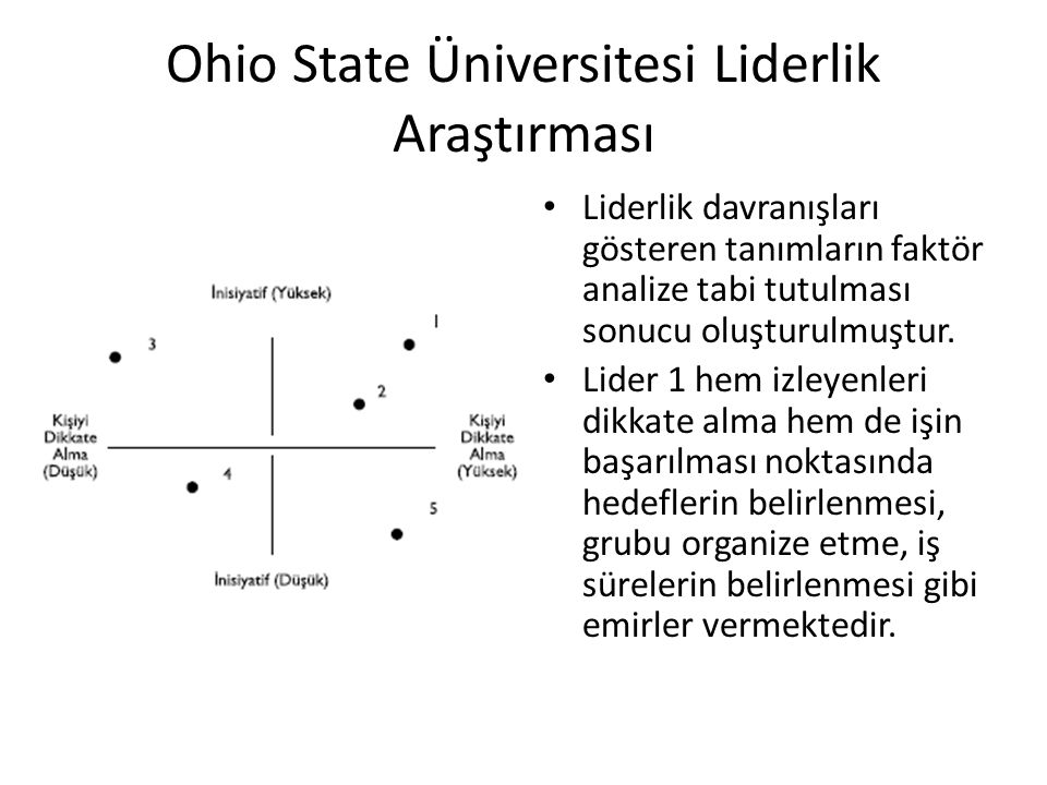 Ohio State Üniversitesi Liderlik Araştırması
