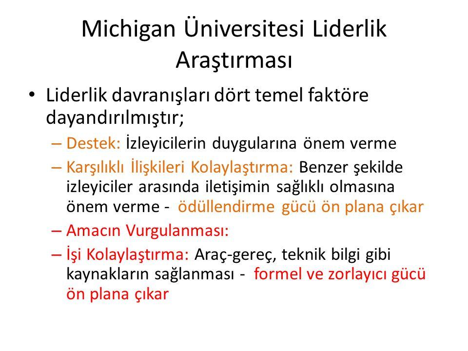 Michigan Üniversitesi Liderlik Araştırması