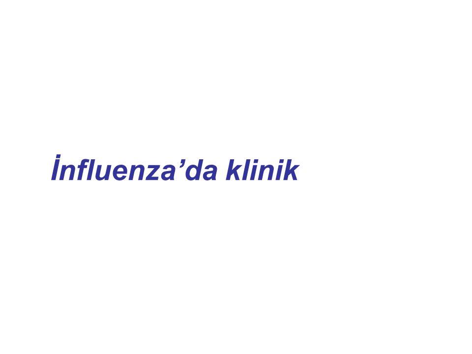 İnfluenza'da klinik