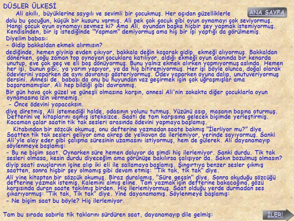 DÜSLER ÜLKESİ ANA SAYFA