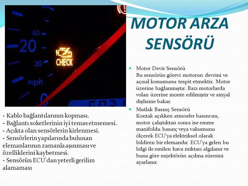 MOTOR ARZA SENSÖRÜ