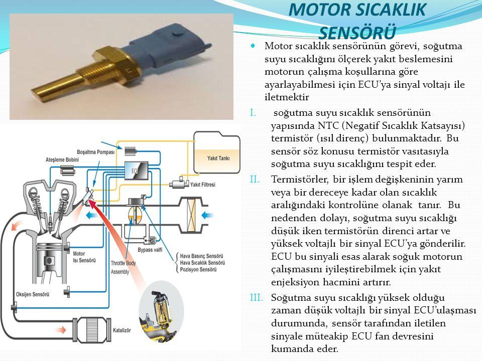 MOTOR SICAKLIK SENSÖRÜ