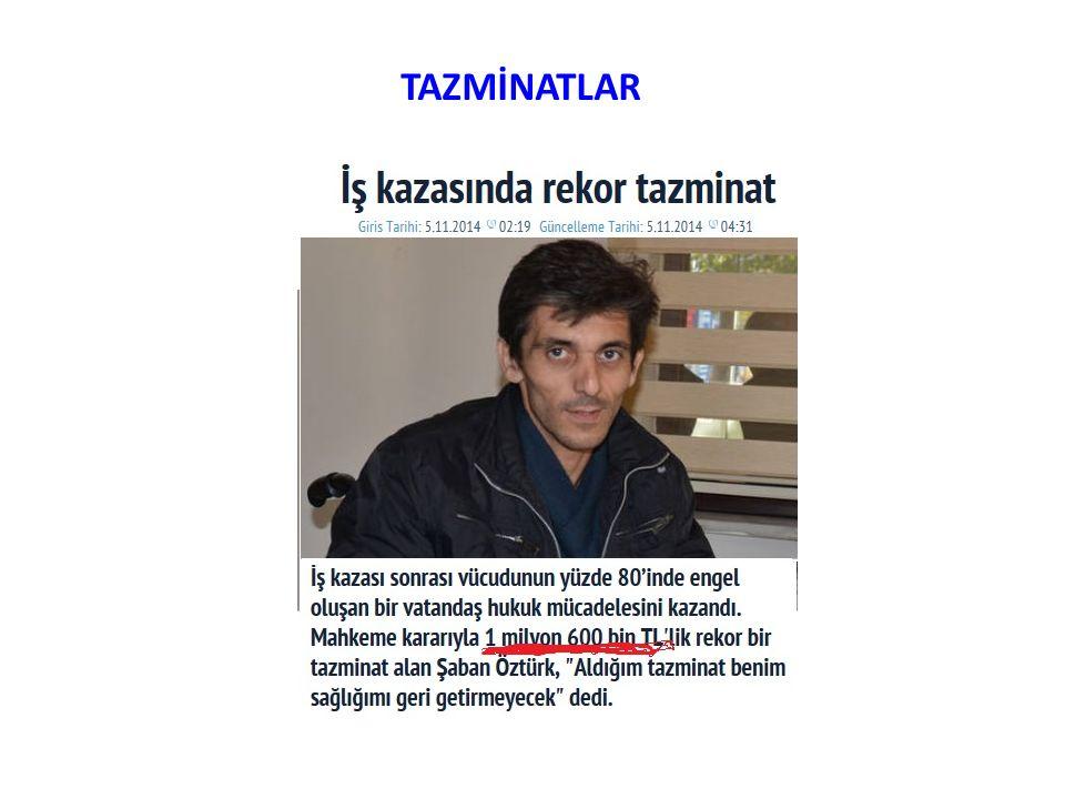 TAZMİNATLAR