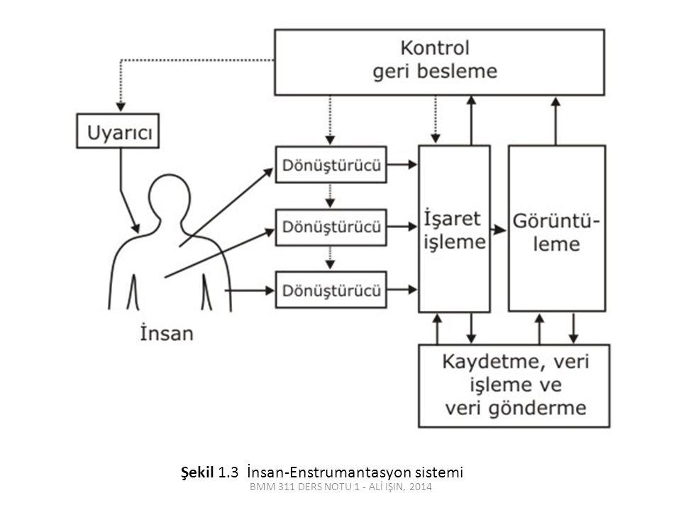 Şekil 1.3 İnsan-Enstrumantasyon sistemi