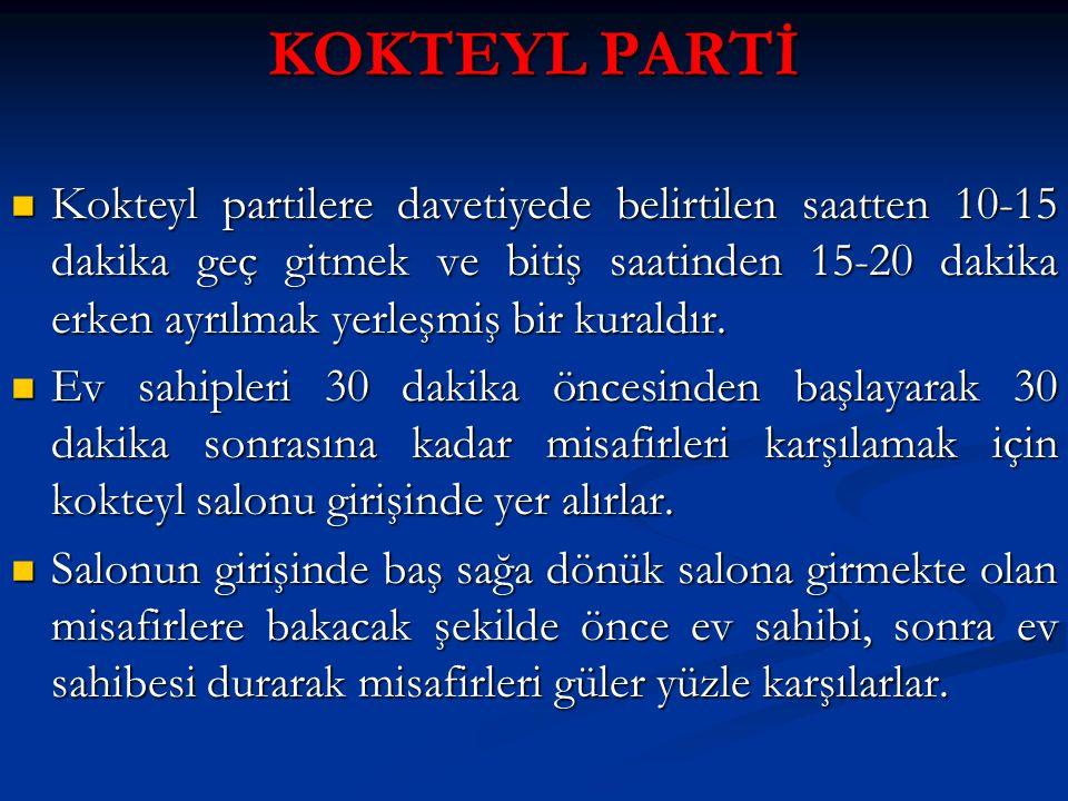 KOKTEYL PARTİ