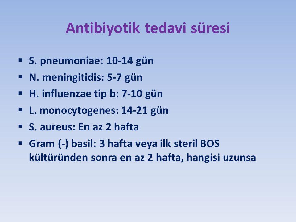 Antibiyotik tedavi süresi