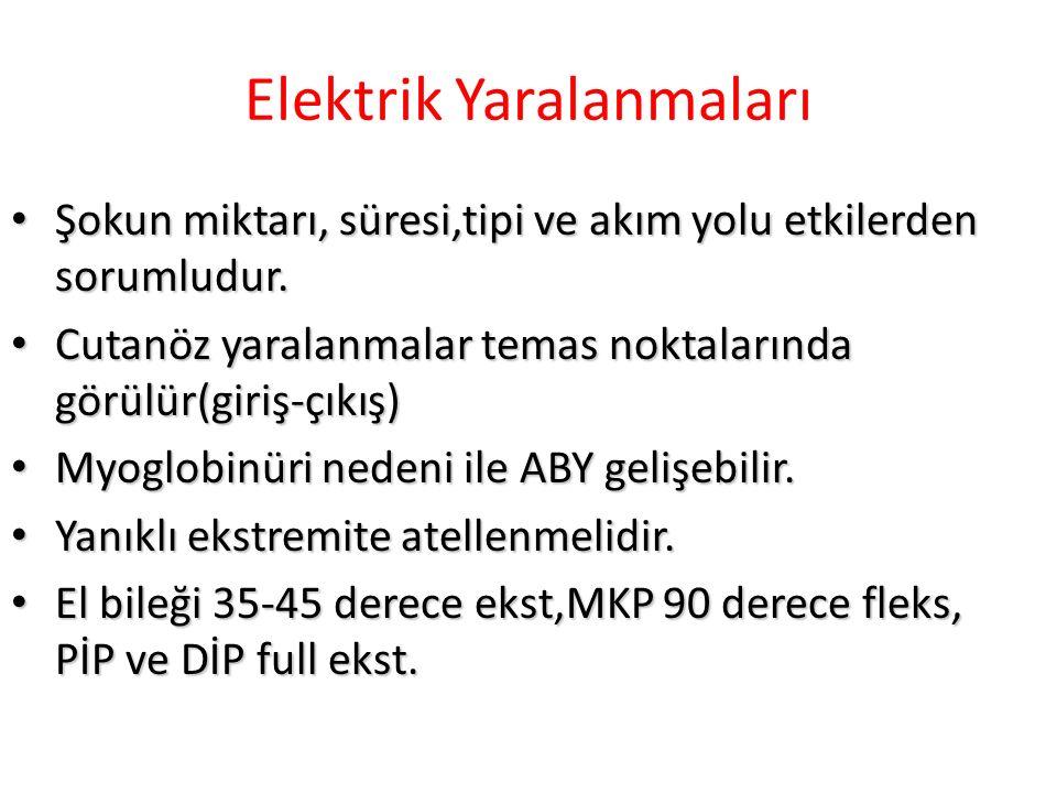 Elektrik Yaralanmaları