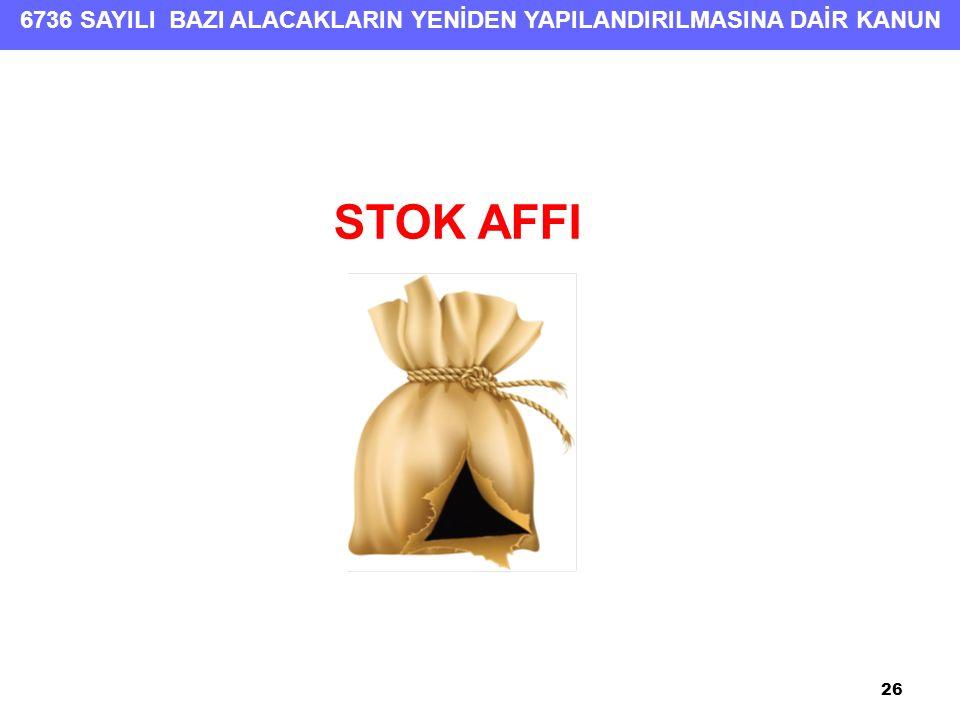 STOK AFFI 26