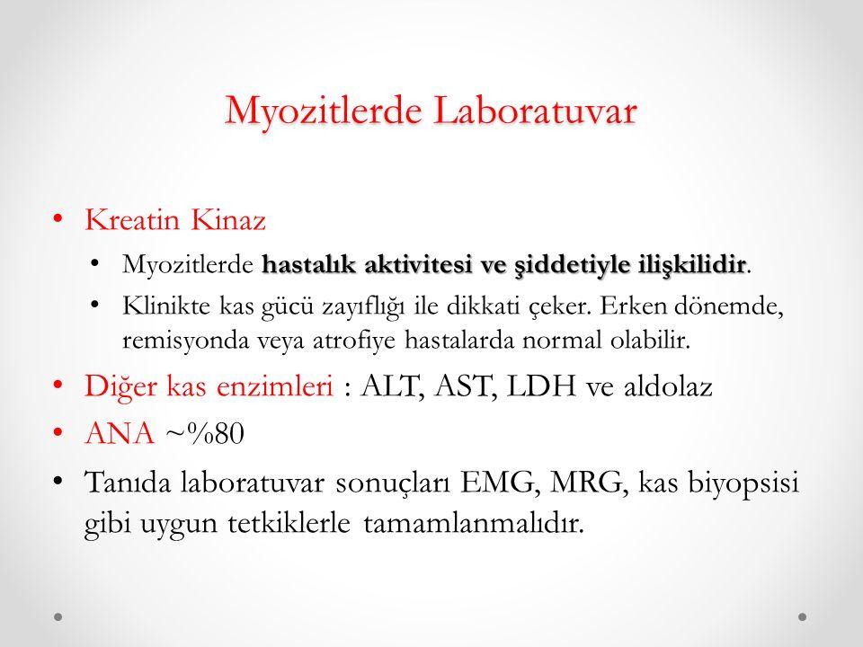 Myozitlerde Laboratuvar