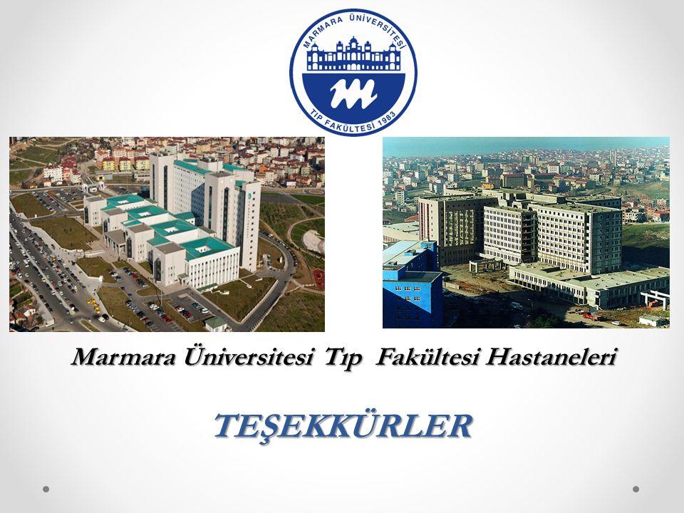 Marmara Üniversitesi Tıp Fakültesi Hastaneleri
