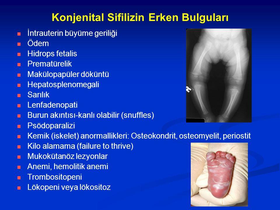 Konjenital Sifilizin Erken Bulguları