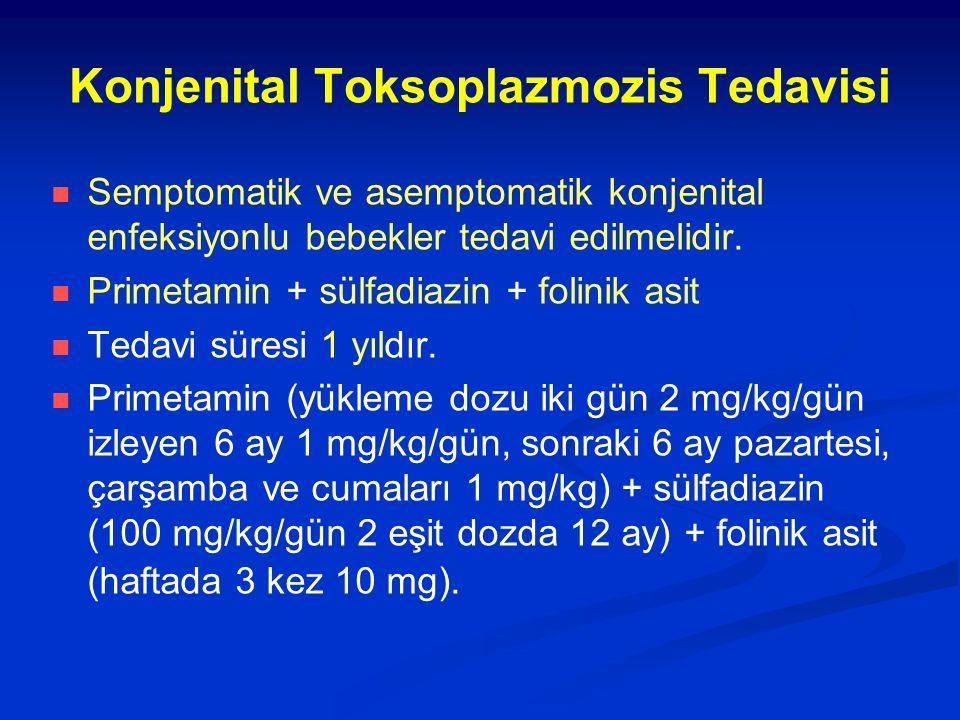 Konjenital Toksoplazmozis Tedavisi