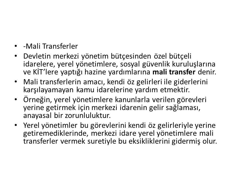 -Mali Transferler