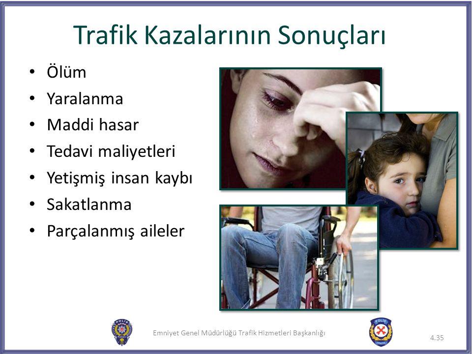 Trafik Kazalarının Sonuçları
