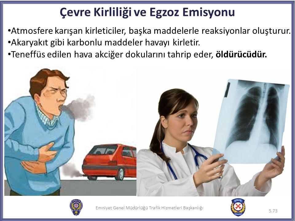 Çevre Kirliliği ve Egzoz Emisyonu
