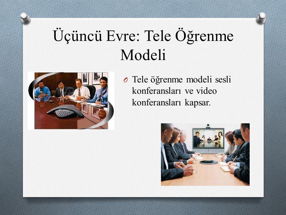 Üçüncü Evre: Tele Öğrenme Modeli