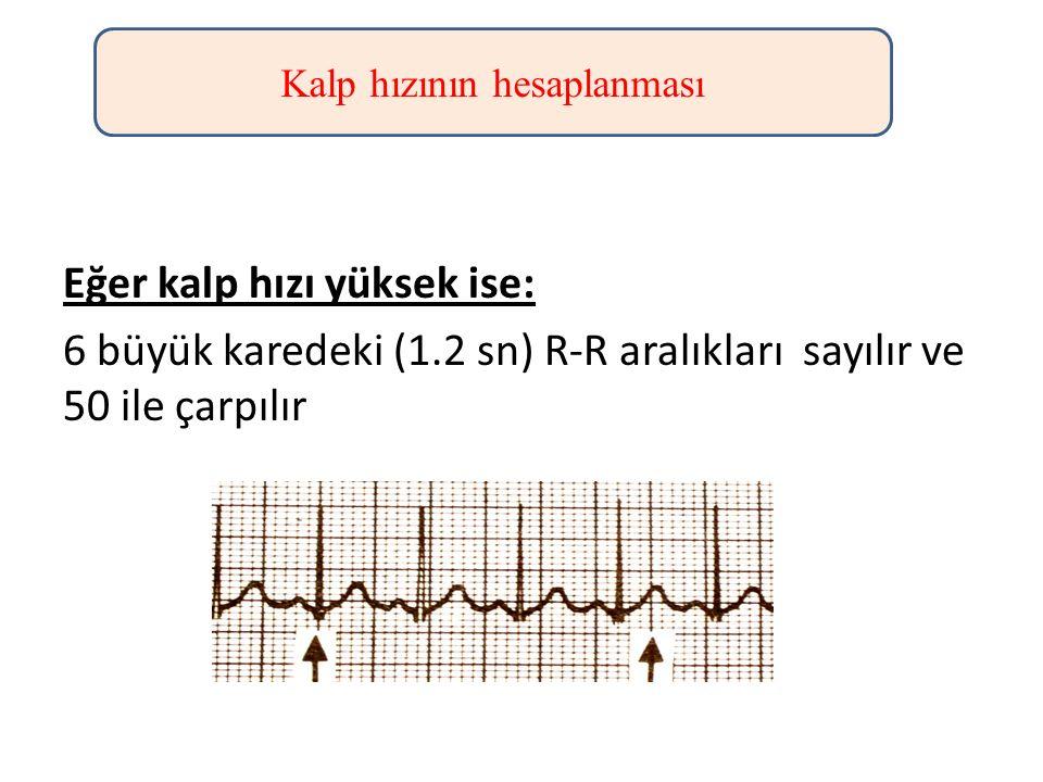 Kalp hızının hesaplanması