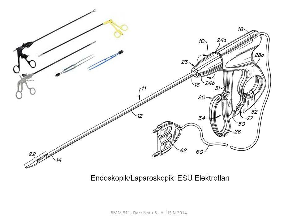 Endoskopik/Laparoskopik ESU Elektrotları
