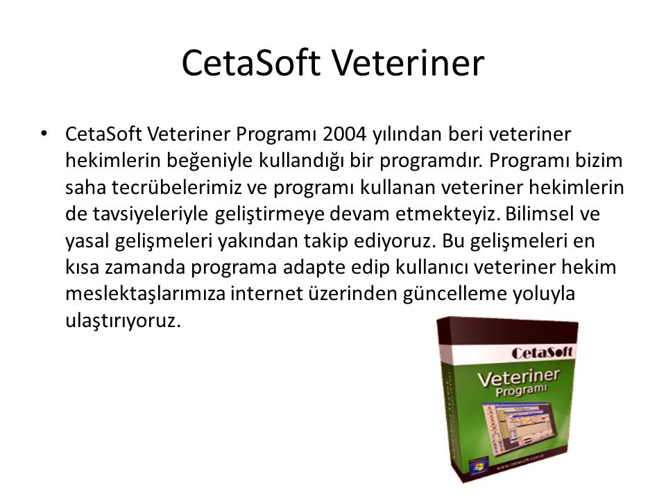 CetaSoft Veteriner