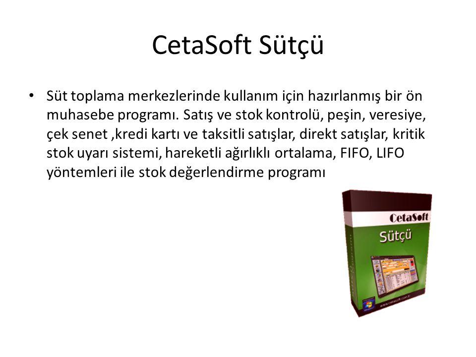 CetaSoft Sütçü