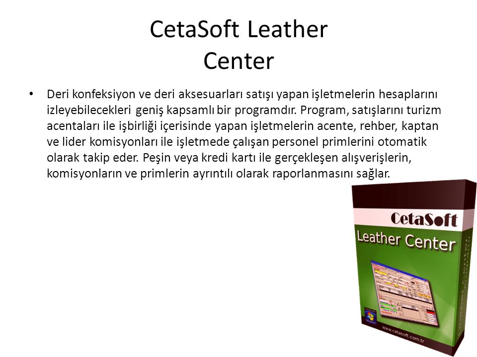 CetaSoft Leather Center
