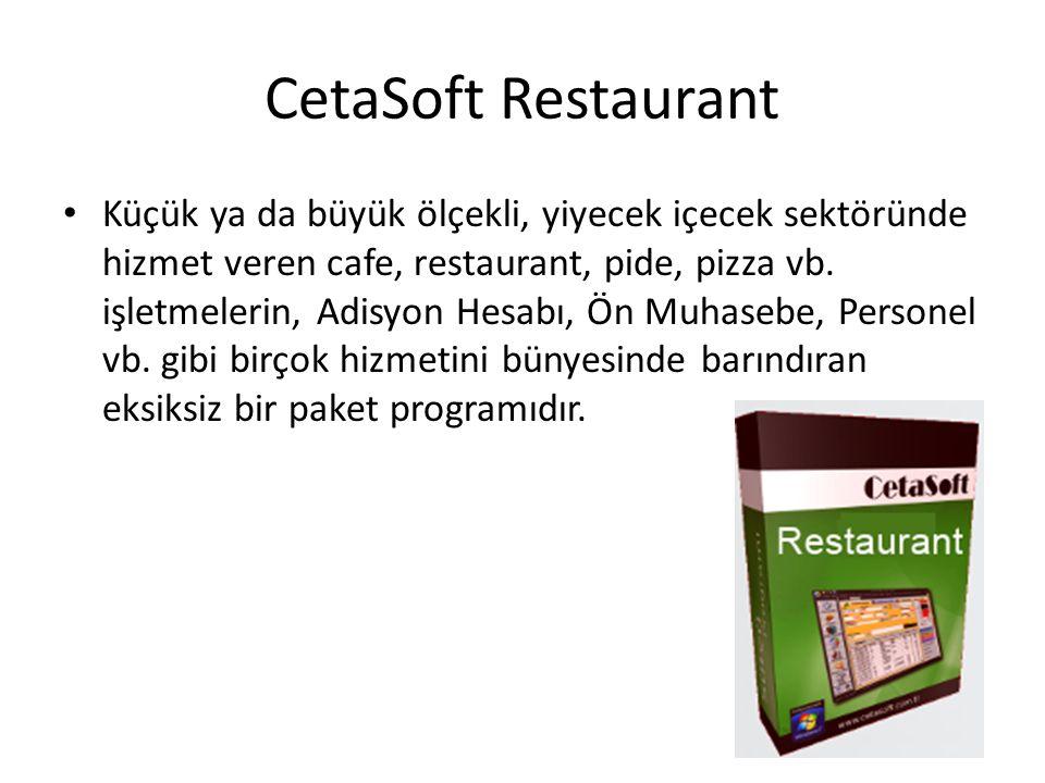 CetaSoft Restaurant