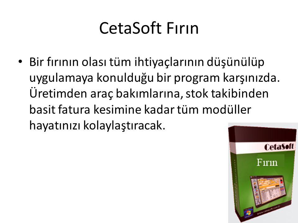 CetaSoft Fırın