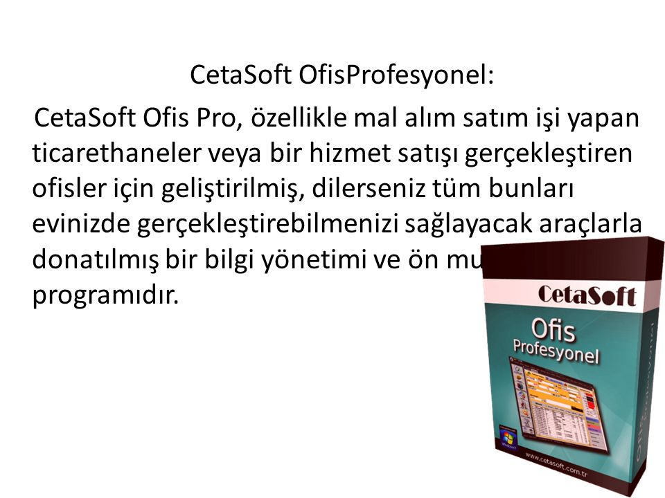 CetaSoft OfisProfesyonel: