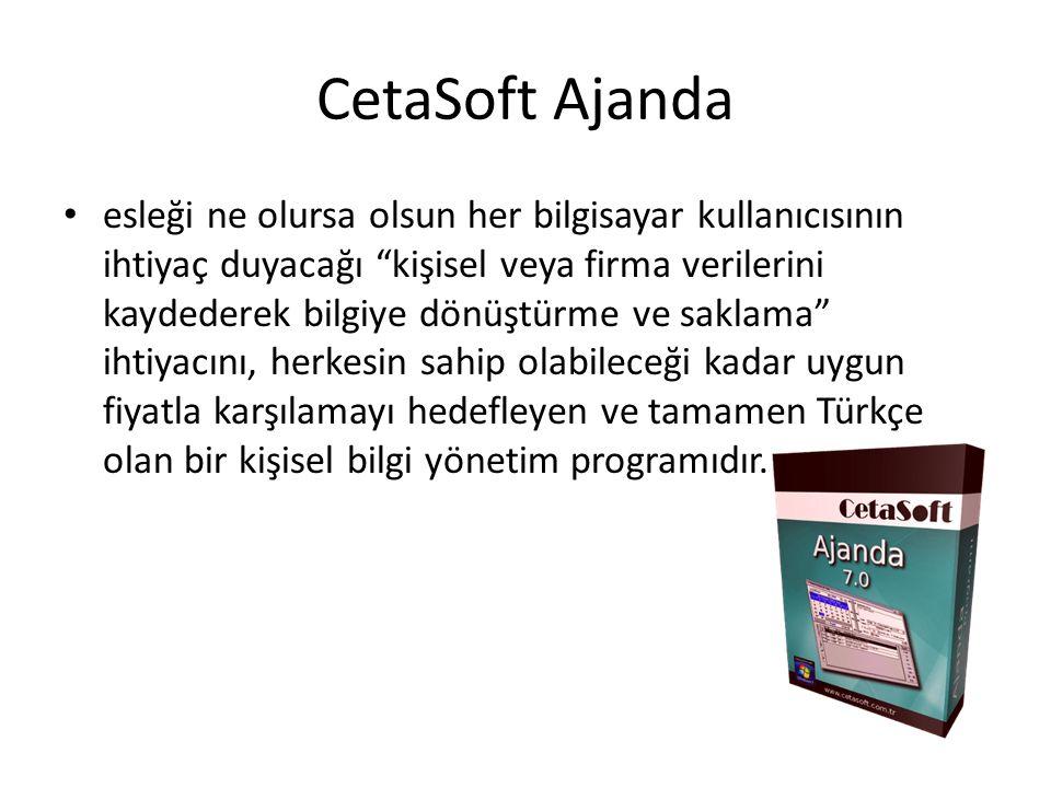 CetaSoft Ajanda