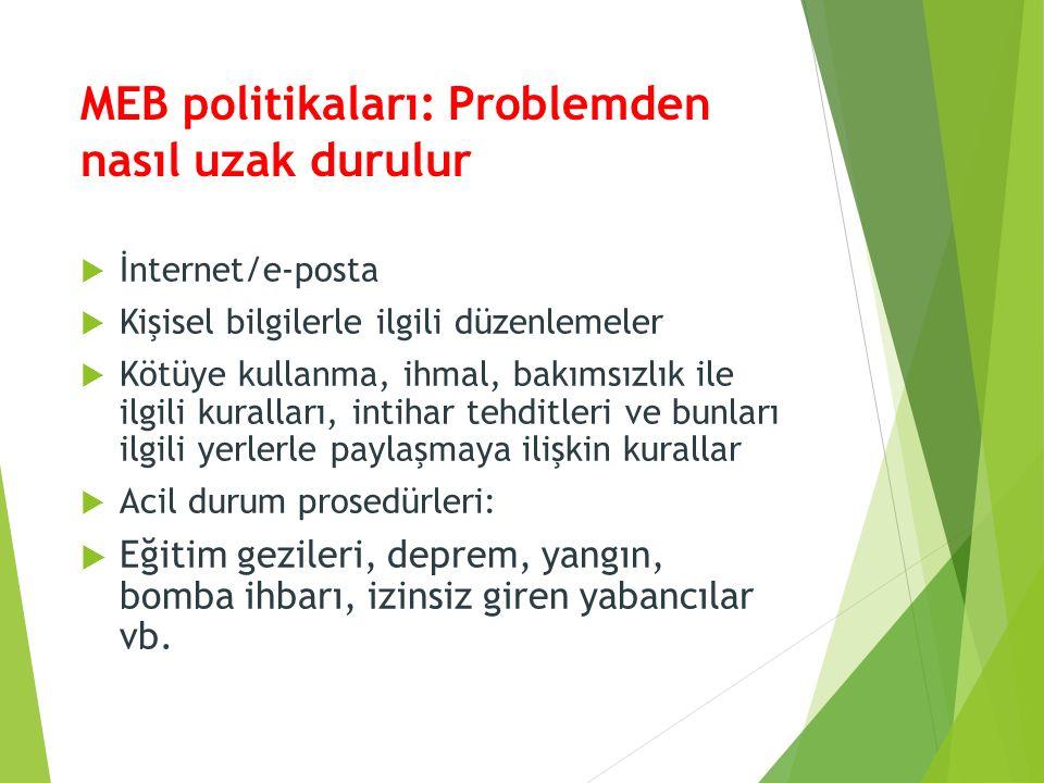 MEB politikaları: Problemden nasıl uzak durulur