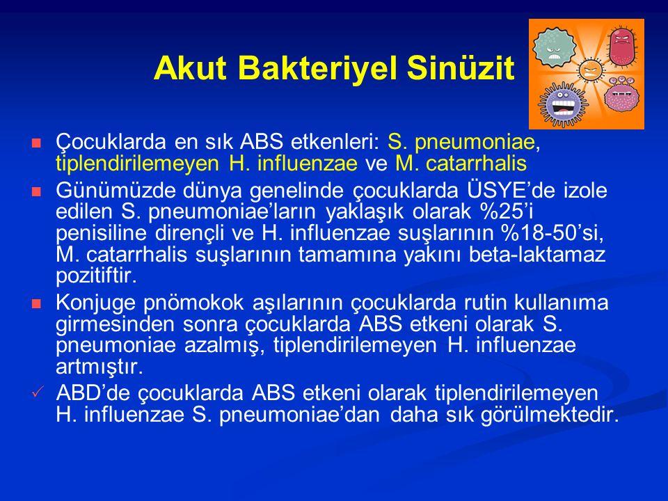 Akut Bakteriyel Sinüzit